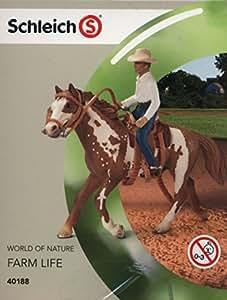 Schleich - Set de equitación del Lejano Oeste (40188)
