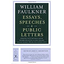 com william faulkner essays correspondence  5 results for books literature fiction essays correspondence william faulkner