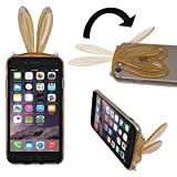 Specially designed for Apple iPhone6 / 6s Jelly Case  Foldable Feature to comfortably watch Video / Text at any angle (Slide the bunny ears)  Perfect fit for iphone6 / 6s Case allows full access to All Functions  Compatible with Apple iPhone6...