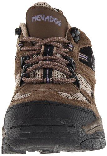 Hiking Klondike Taupe Waterproof Black Brown Dark V4161W Women's Boot Nevados Low xpZqXPwnUq