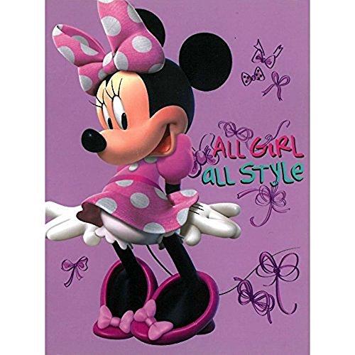 S.L. Home Fashions Disney Minnie Mouse Bowtique