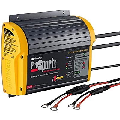 """PROMARINER PROSPORT 8 GEN 3 8 AMP - 2 BANK BATTERY CHARGER """"Prod. Type: Electrical"""""""