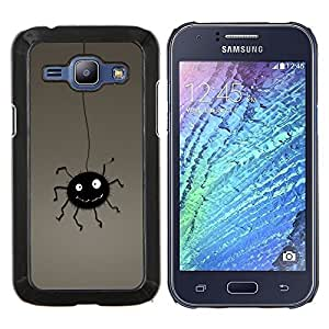 "Be-Star Único Patrón Plástico Duro Fundas Cover Cubre Hard Case Cover Para Samsung Galaxy J1 / J100 ( Bug divertido"" )"