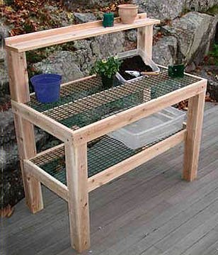 Potting Table Unfinished