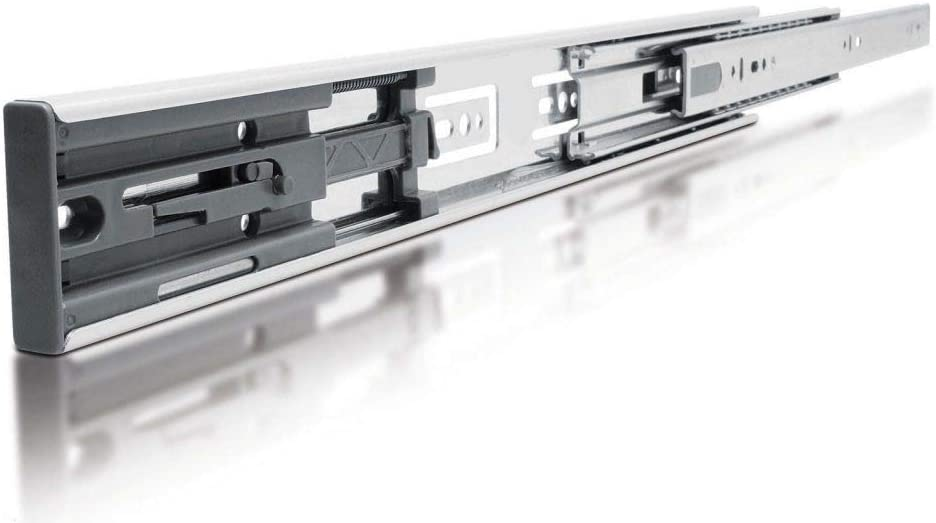 Soft Close Full Extension Drawer Slide Ball bearing Runner Full Extension 1 Pair 400mm x 3 pairs