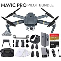 DJI Mavic Pro 4k Quadcopter Drone Pilot Bundle