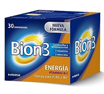 Bion 3 Energía Complemento Alimenticio - 30 Tabletas: Amazon.es: Salud y cuidado personal