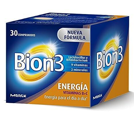Bion 3 Energía Complemento Alimenticio - 30 Tabletas: Amazon ...