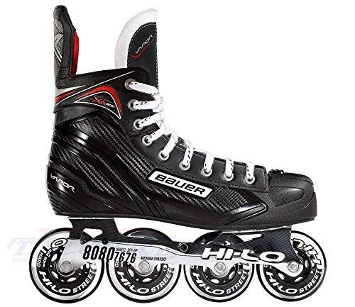 Bauer Vapor Xr300 Senior Inline Hockey Skate Black/Silver 10