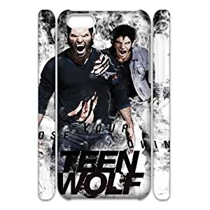 ANCASE Customized 3D case Teen Wolf for iPhone 5C
