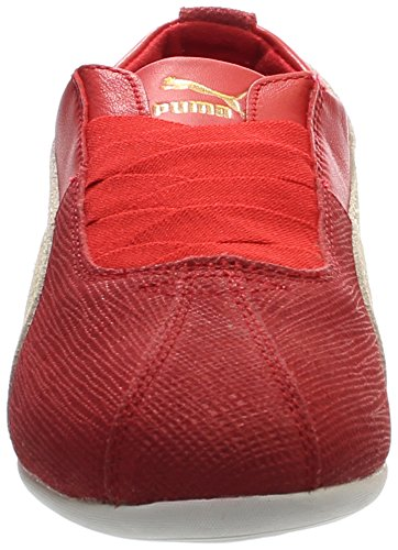 PUMA Women's Eskiva Low Remaster Barbados Cherry/Whisper White Sneaker 5.5 B (M) r9GtLjR