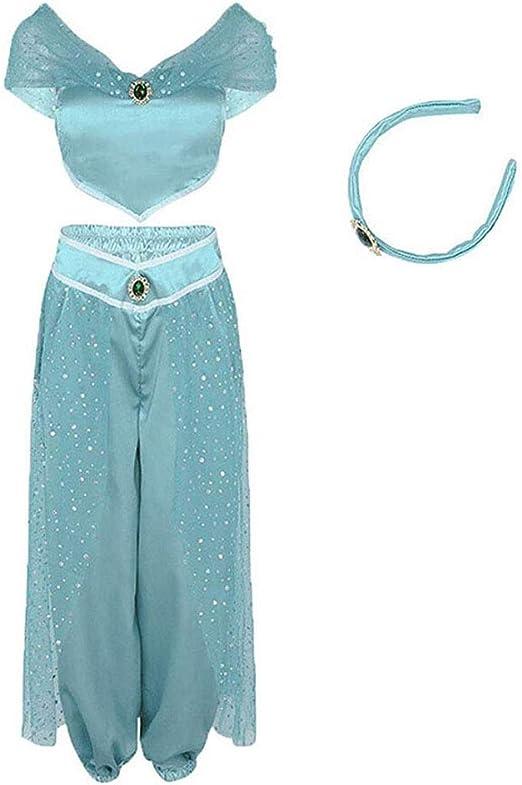 Binwwe - Disfraz de princesa para bailarina del vientre para ...