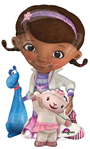 Anagram International Doc Mcstuffins Air Walker, Multi-Color