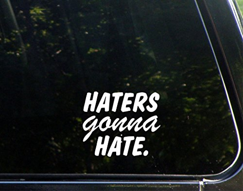 Haters Gonna Hate. - 4 1/2