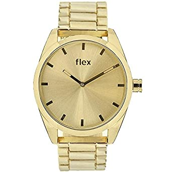 Armbanduhr Flexwatches Gold Bradly