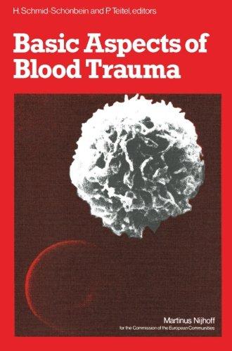 Basic Aspects of Blood Trauma: A Workshop Symposium on Basic Aspects of Blood Trauma in Extracorporeal Oxygenation held