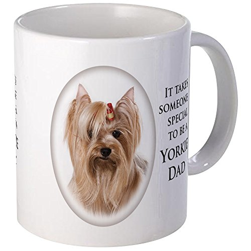 CafePress - Yorkie Dad Mugs - Unique Coffee Mug, Coffee Cup