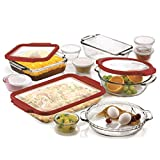 Anchor Hocking 20-Pc Bakeware Set with Lids