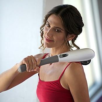 Pure-Wave CM7 Cordless Neck & Shoulder Massager (white)