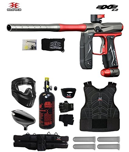 MAddog Empire Axe 2.0 Starter Protective HPA Paintball Gun Package – Dust Red/Dust Grey Review