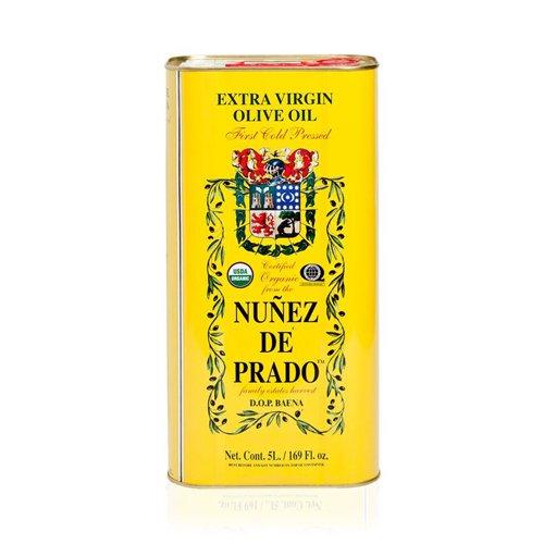 1 Lata de 5 l - Nuñez de Prado - Aceite de oliva virgen extra en rama ecológico por Oliva Oliva Internet S.L.: Amazon.es: Alimentación y bebidas