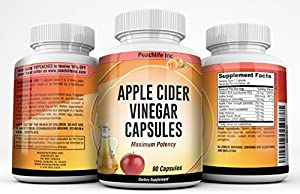 Sweepstakes: Peachlife Apple Cider Vinegar Capsules...