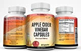 Made in USA – Apple Cider Vinegar Capsules – Vitamin B-6, Iodine, Spirulina, Bromelain and More – Natural Detox – WEIGHTLOSS – Cleanse 90 Capsules by PEACHLIFE INC For Sale