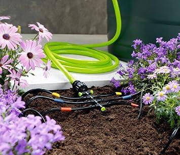 18tlg Bewässerungssystem Set Bewässerung Beet Garten