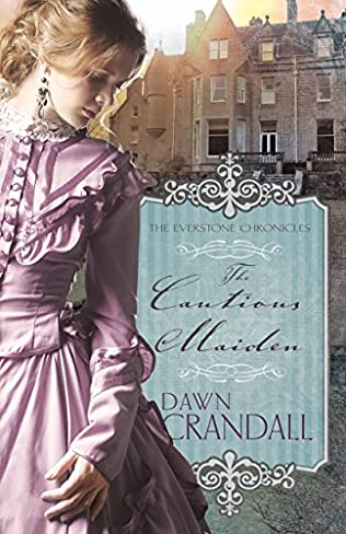 book cover of The Cautious Maiden