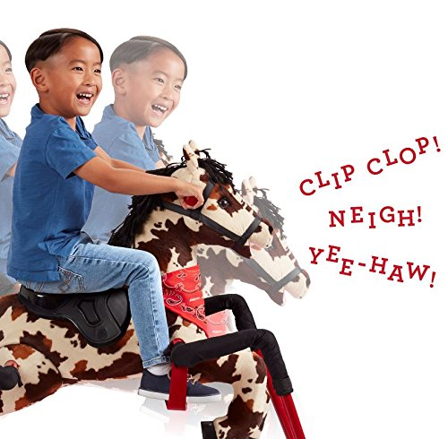 Radio Flyer Freckles Plush Interactive Riding Horse by Radio Flyer (Image #4)