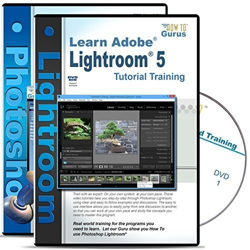 Adobe Photoshop Lightroom 5 Tutorial & Adobe Photoshop CS5 Training on 5 DVDs by How To Gurus