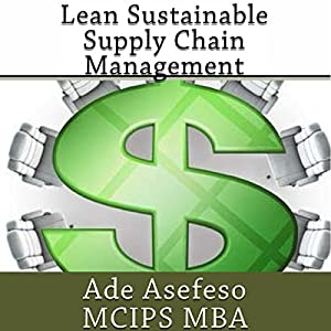 Lean Sustainable Supply Chain Management Audiobook