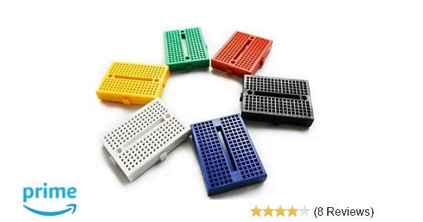 Amazon onwon pcs points mini solderless prototype