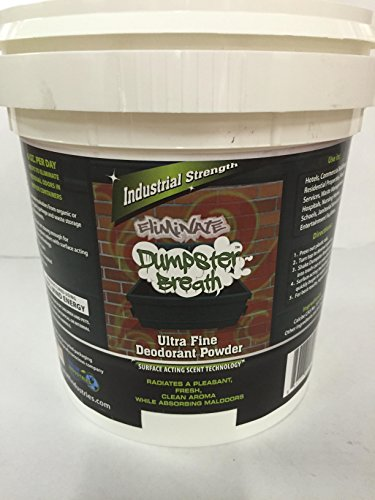 Dumpster Breath Heavy Duty Commercial Odor Control Deodorant Powder for All Solid Waste Management Environments. - 10 Lb by Whiff Out