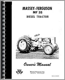 the massey ferguson 35 tractor workshop service manual chris rh amazon ca massey ferguson 35 manual free massey ferguson 35 shop manual pdf