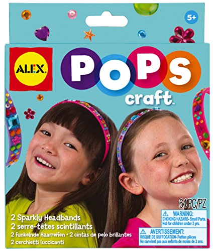 ALEX Toys POPS Craft 2 Sparkly Headbands