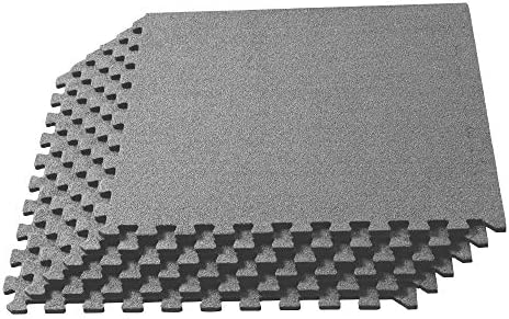 Office 24 in x 24 in Durable Carpet Squares or Classroom Use Anti-Fatigue Support for Home We Sell Mats 3//8 Inch Thick Interlocking Foam Carpet Tiles