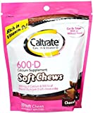 Caltrate Calcium & Vitamin D Soft Chews Chocolate Truffle 60 Each (Pack of 9)
