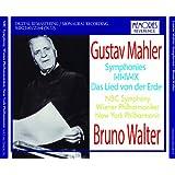 ブルーノ・ワルター指揮 マーラー:交響曲第1番「巨人」、第2番「復活」、第4番、第9番、「大地の歌」