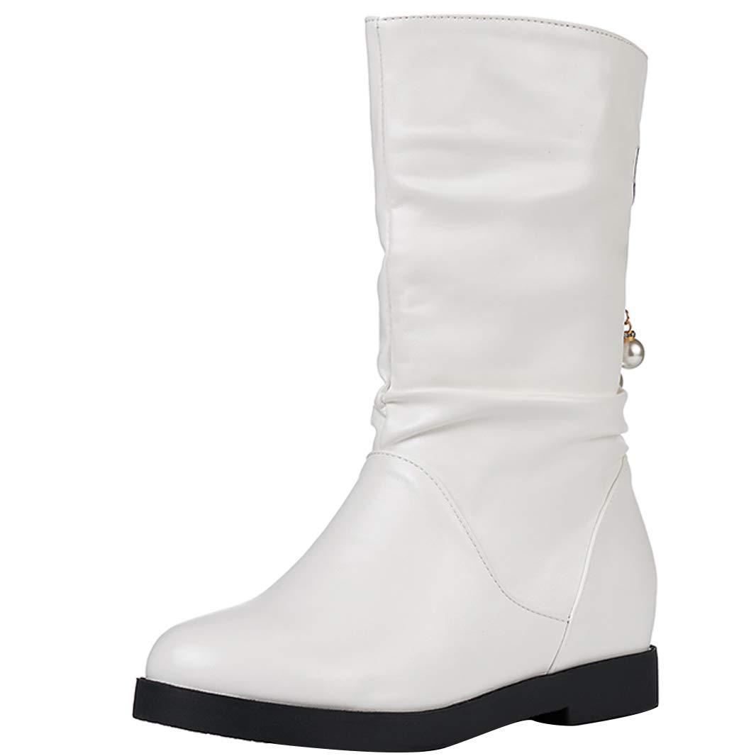 Mavirs Womens Mid-Calf Mapay no-Heel Mid-Calf Womens 2.5 cm Boots B07GGS5P9P Boots c467bc