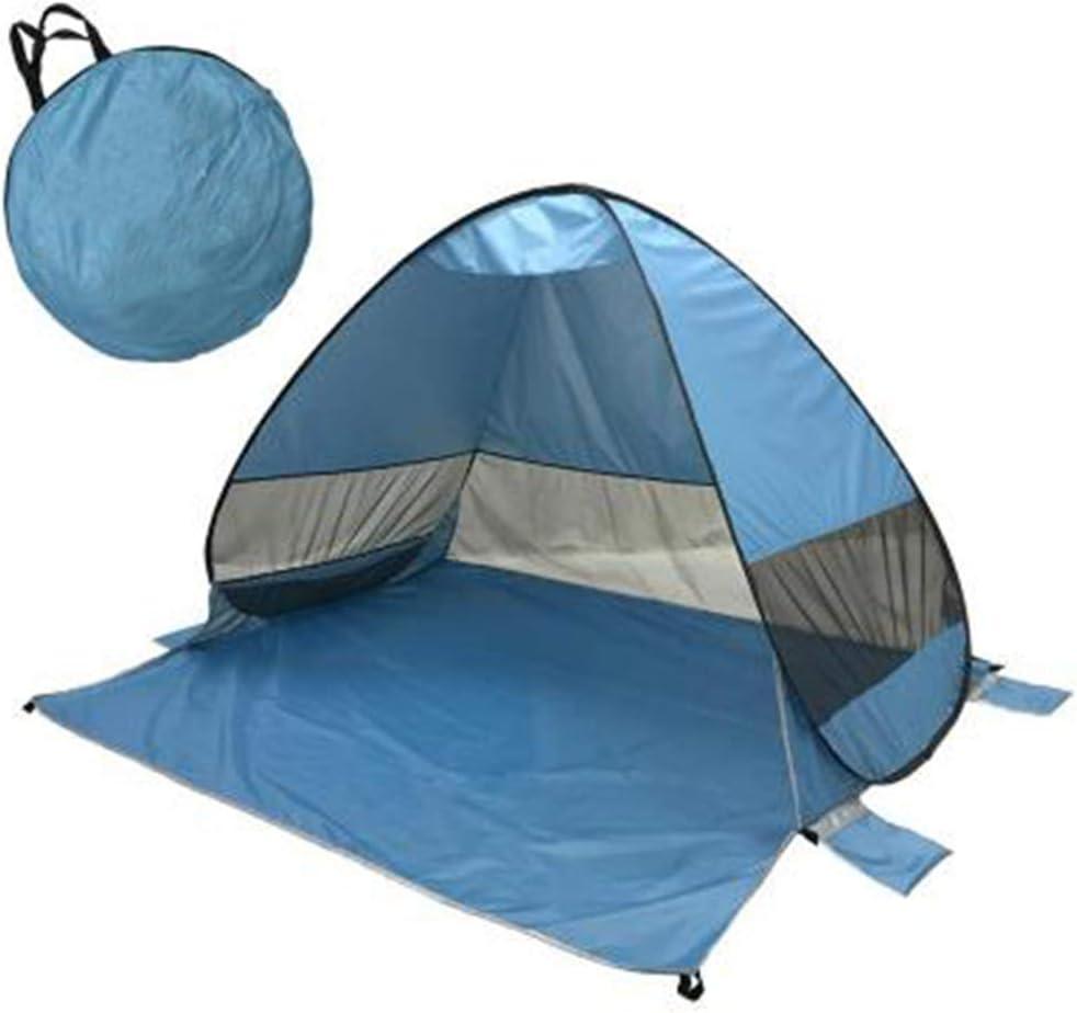 KEDUODUO Playa Tentfully, refugios automático de Inicio rápido de Sun Shade Camping al Aire Libre Conveniente 3-4 Personas