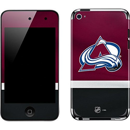 Skinit Colorado Avalanche Ipod Skin - NHL Colorado Avalanche iPod Touch (4th Gen) Skin - Colorado Avalanche Jersey Vinyl Decal Skin For Your iPod Touch (4th Gen)