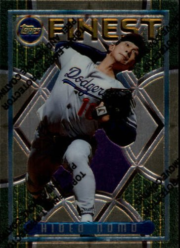 1995-topps-finest-baseball-rookie-card-228-hideo-nomo-mint