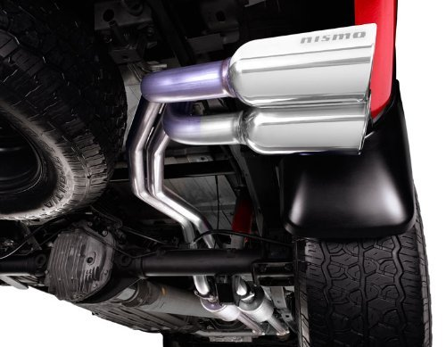 2010-2013 Nissan Titan Dual Sport Nismo Cat-back exhaust 2010S-RS0A0 - Nismo Cat Back Exhaust