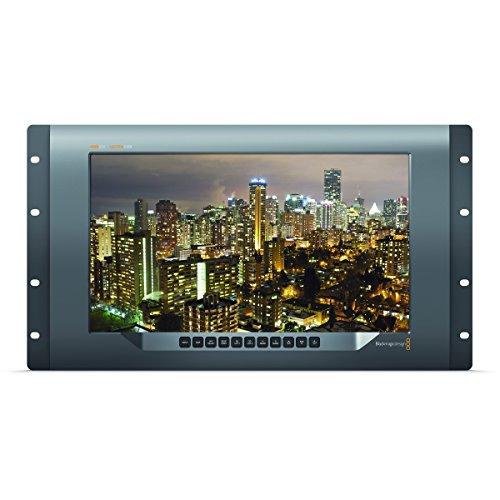 (Blackmagic SmartView 4K | 12G-SDI 2160p60 Ultra HD Rack Mount Broadcast Monitor)