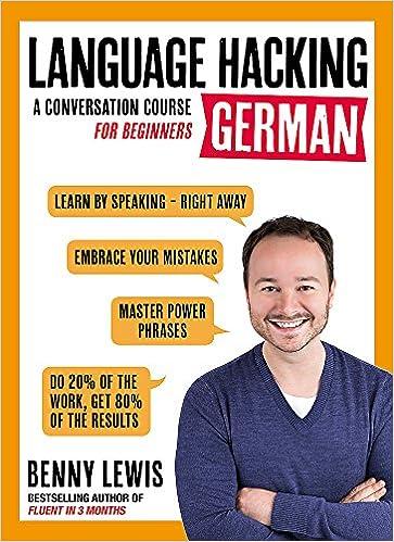 Language Hacking German (Language Hacking with Benny Lewis