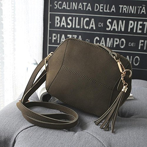 Messenger Crossbody Fashion Bag TUDUZ Satchel Bags Bags Bag Casual Shoulder tassel Bags Shoulder Leather Handbag Women Hobo Coffee Handbag Travel Tote npqYa0Iw