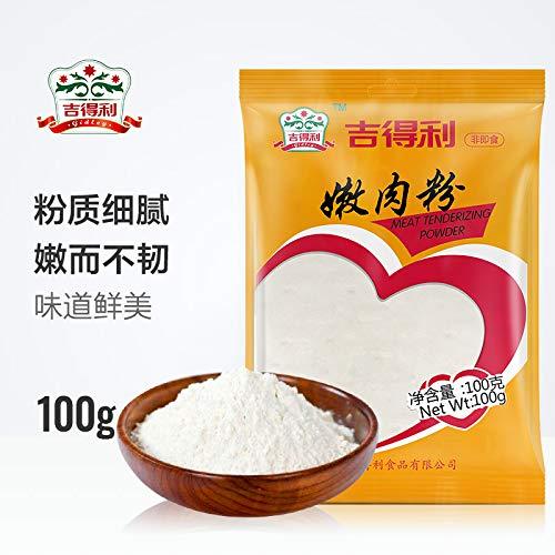 吉得利 嫩肉粉 烧烤腌肉炸粉调料100g Gidley tender meat powder barbecue bacon fried powder seasoning 100g ()