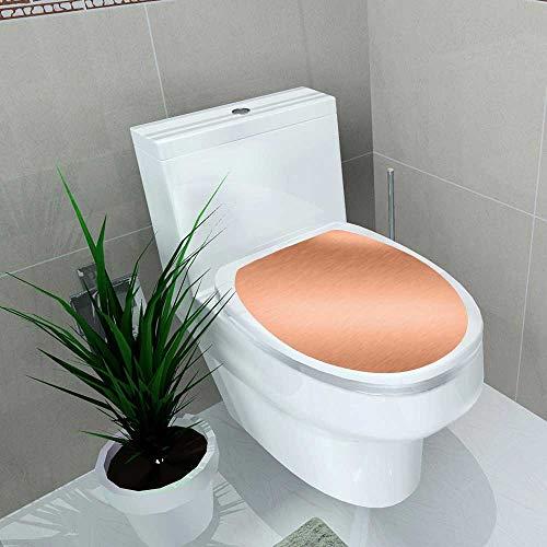 Vanfan Toilet Seat Wall Stickers Paper Copper Metal Steel Plate Background Texture Decals DIY Decoration W13 x L13 by Vanfan