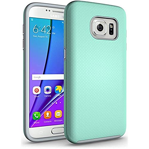 S7 Edge Case, ImpactStrong [Good Grip Series] Premium Exact-Fit Cover [Shock Proof] Rugged Impact Protection for Samsung Galaxy S7 Edge (2016) - Mint Sales